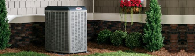 Lennox Air Conditioning Unit outside Birmingham, AL home