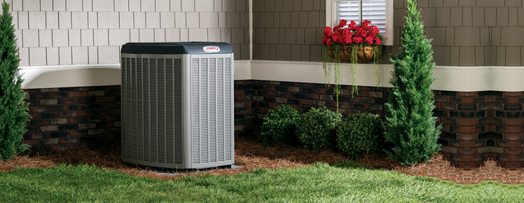 Lennox Air Conditioning Unit outside Birmingham, AL home